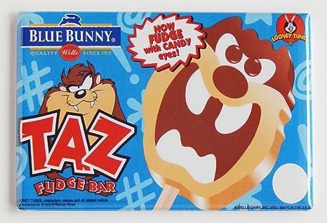 Amazon.com: Demonio de Tasmania helado cartel imán para ...