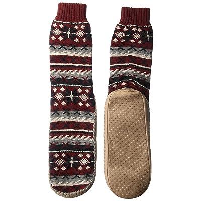 MUK LUKS Men's Slipper Socks   Slippers