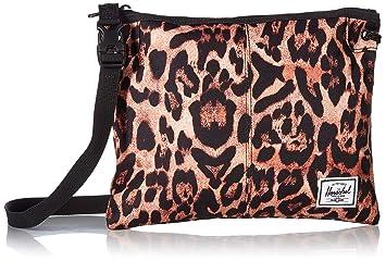 Image Unavailable. Image not available for. Color  Herschel Alder Cross  Body Bag Desert Cheetah ... cb4c189b0380a
