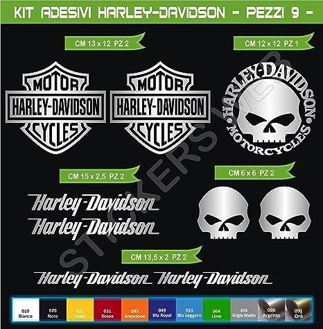 Adesivi Stickers Harley-Davidson Moto Motorbike cod.0636