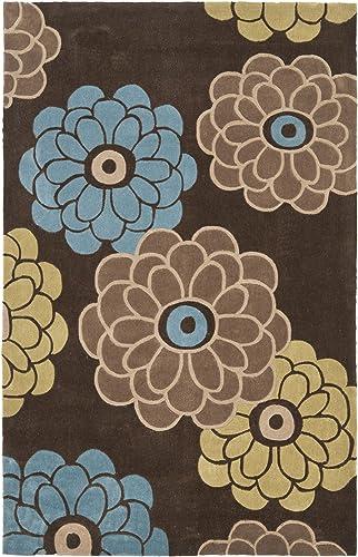 Safavieh Modern Art Collection MDA620B Handmade Floral Area Rug