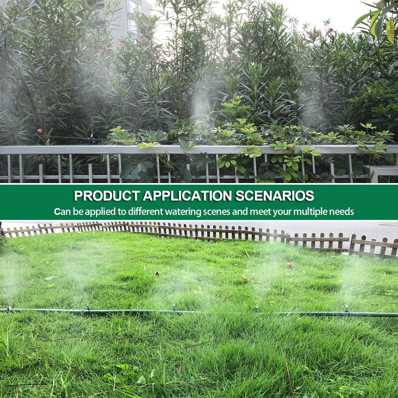 Gesentur® brumisation Sistema de refrigeración, riego automático Ajustable para Sistema de jardín de Invernadero (23M): Amazon.es: Jardín