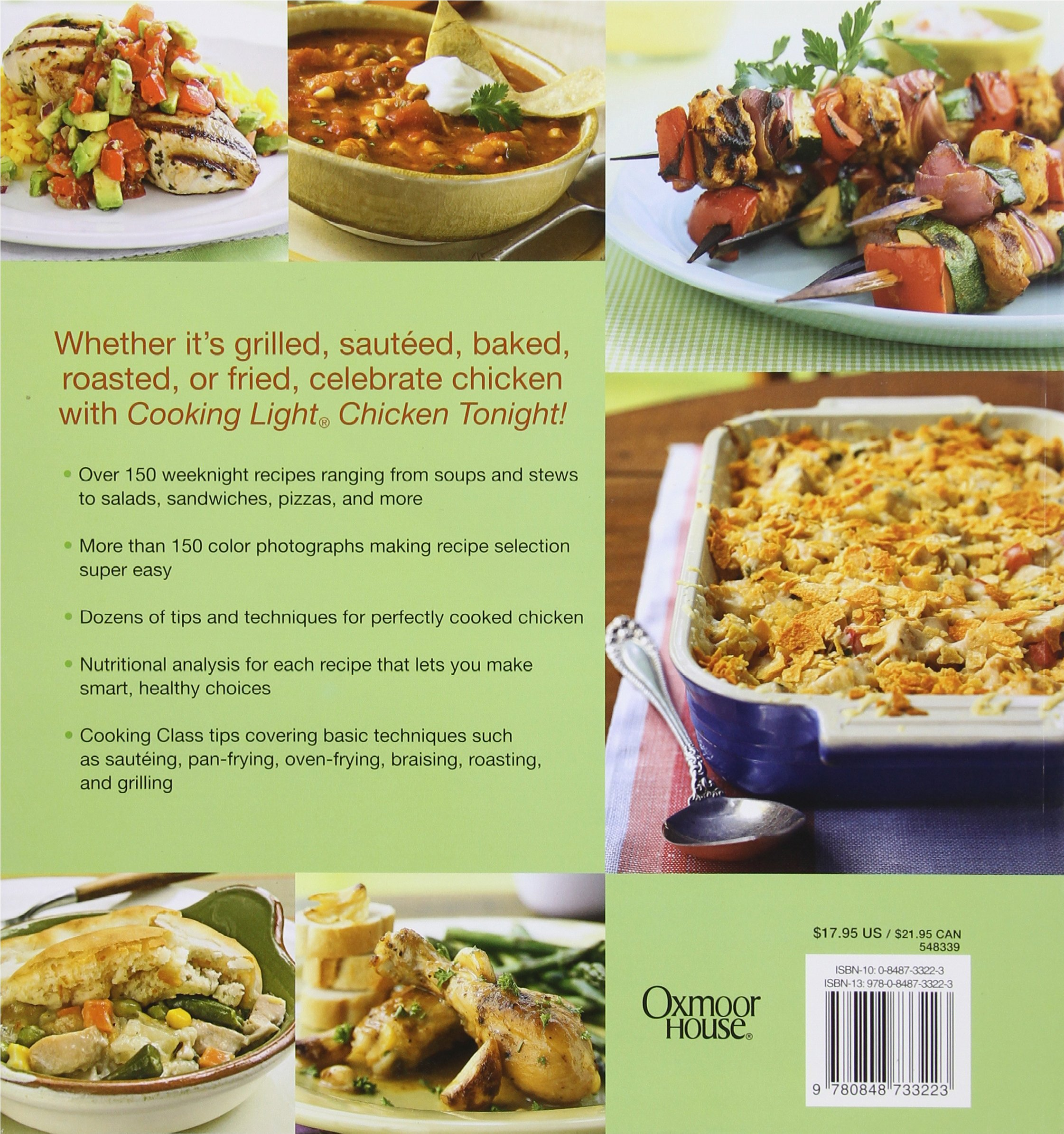 Cooking Light Chicken Tonight!: Great Weeknight Meals Designed For Speed  And Convenience: Editors Of Cooking Light Magazine: 9780848733223:  Amazon.com: ...
