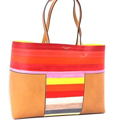 07aa899771be Image Unavailable. Image not available for. Color  Tory Burch Women s Block T  Degrade Tote