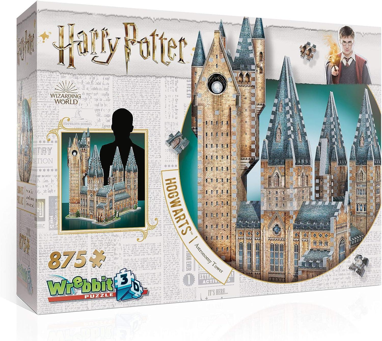 Wrebbit 3D-La Torre de la Astronomía de Hogwarts Puzzle 3D, Multicolor (W3D-2015): Amazon.es: Juguetes y juegos