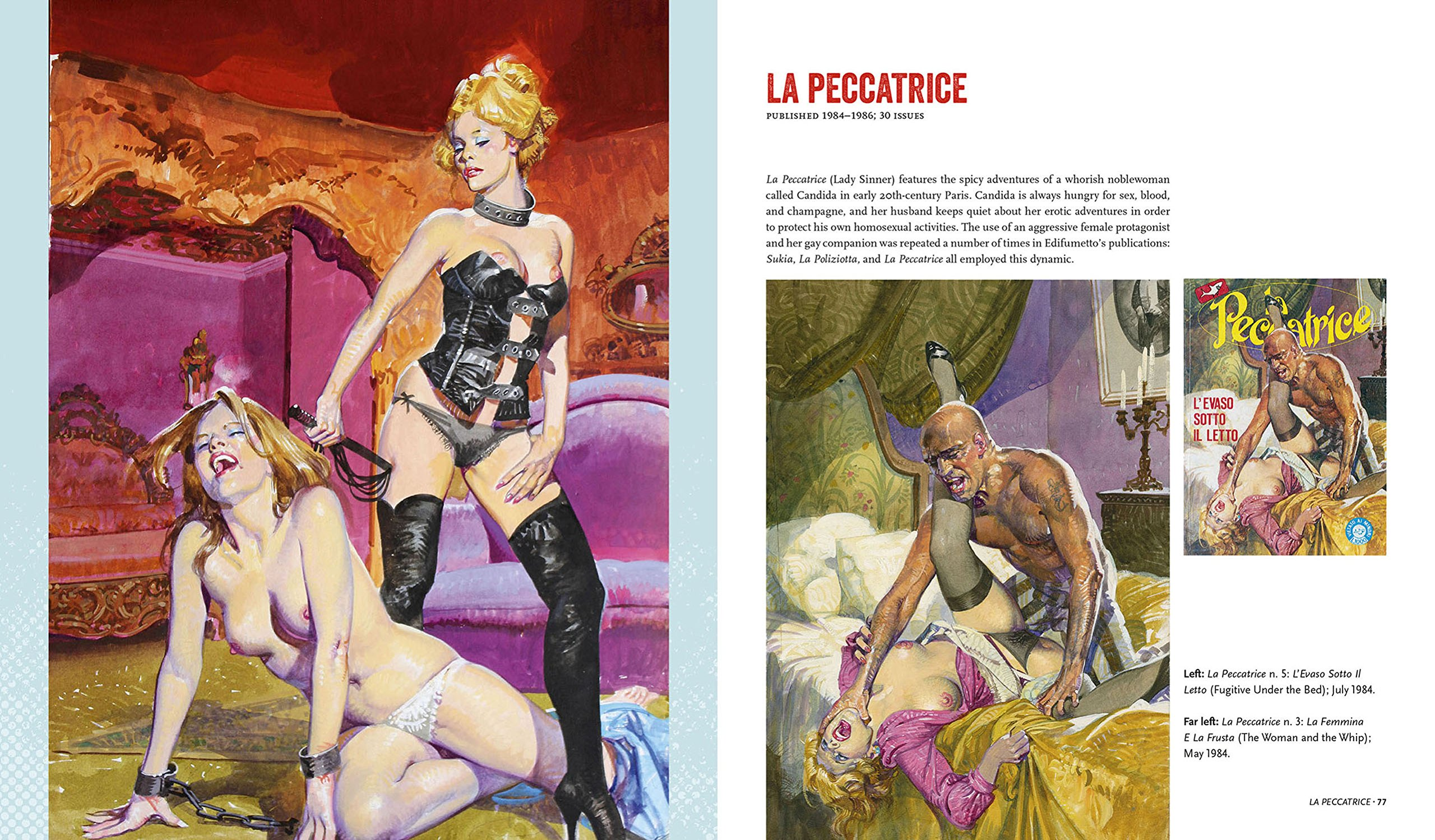 Comic-Betrug sexy Bilder