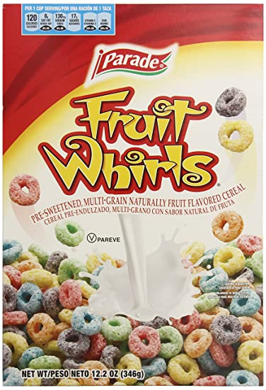 Parade Fruit Whirls 12.2 oz