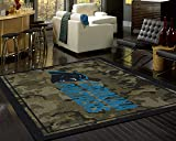 New England Patriots NFL Team Area Rug by