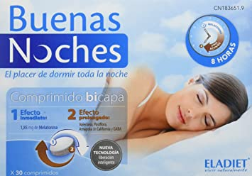 Eladiet - Buenas Noches, 30 comprimidos: Amazon.es: Salud y cuidado personal