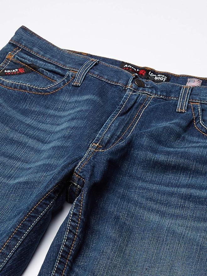 Amazon Com Ariat Men S Flame Resistant M4 Low Rise Boot Cut Jean Glacier Ariwv Clothing
