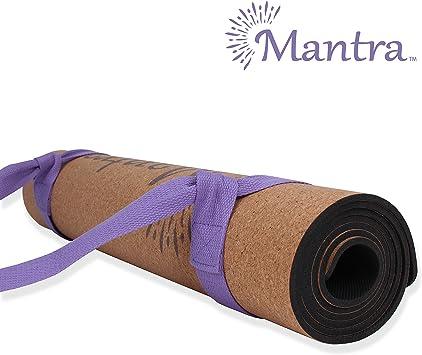 Amazon.com: Mantra - Esterilla de yoga de corcho - La mejor ...