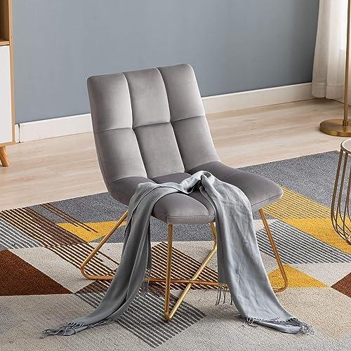 Duhome Velvet Accent Chair Retro Leisure Lounge Chair Mid Century Modern Chair Vanity Chair