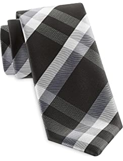 Synrgy by DXL Big and Tall Large Plaid Tie