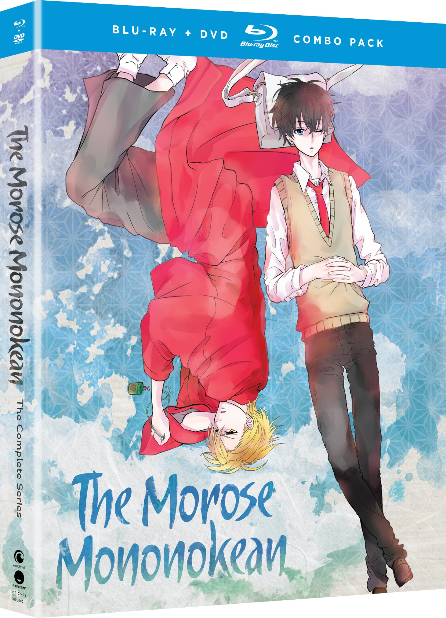 Blu-ray : The Morose Mononokean: The Complete Series (With DVD, Boxed Set, 4 Disc)