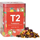 T2 Tea Fruitalicious Fruit Tea, Loose Leaf Iced Tea in Limited Edition Tin, 100g, 100 g
