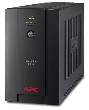 APC Back-UPS BX - BX950UI - Uninterruptible Power Supply 950VA (AVR, 6  Outlets IEC-C13, USB, Shutdown Software)