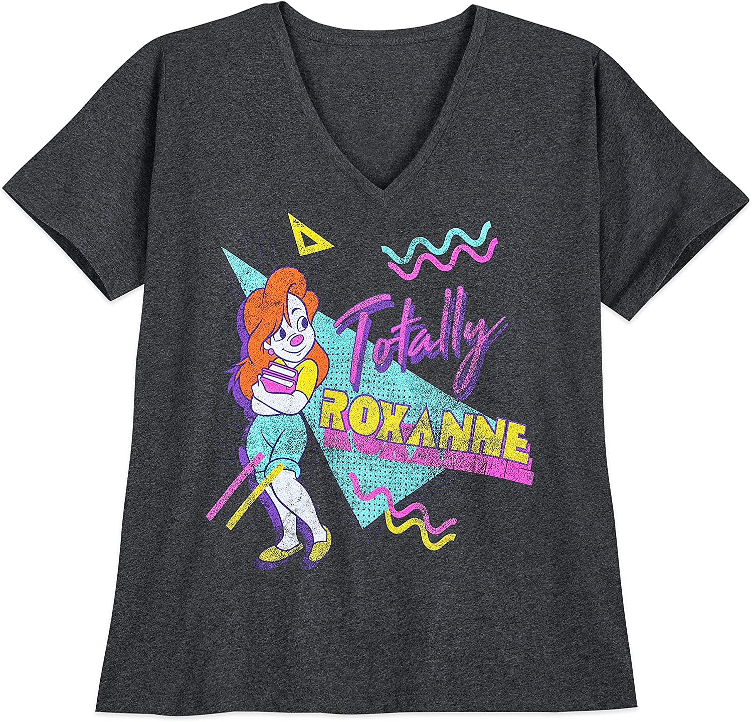 Amazon Com Disney Roxanne T Shirt A Goofy Movie Extended Size Size Ladies 4xl Multi Clothing