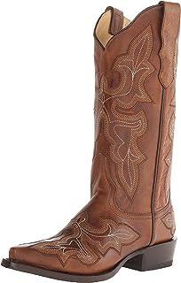 b06d18a757e Amazon.com | Stetson Women's Mia Western Boot | Ankle & Bootie