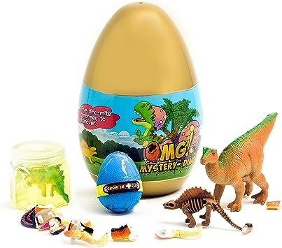 Amazon.com: O.M.G! Jurassic Dinosaur 5 Sorpresa Dino Egg ...