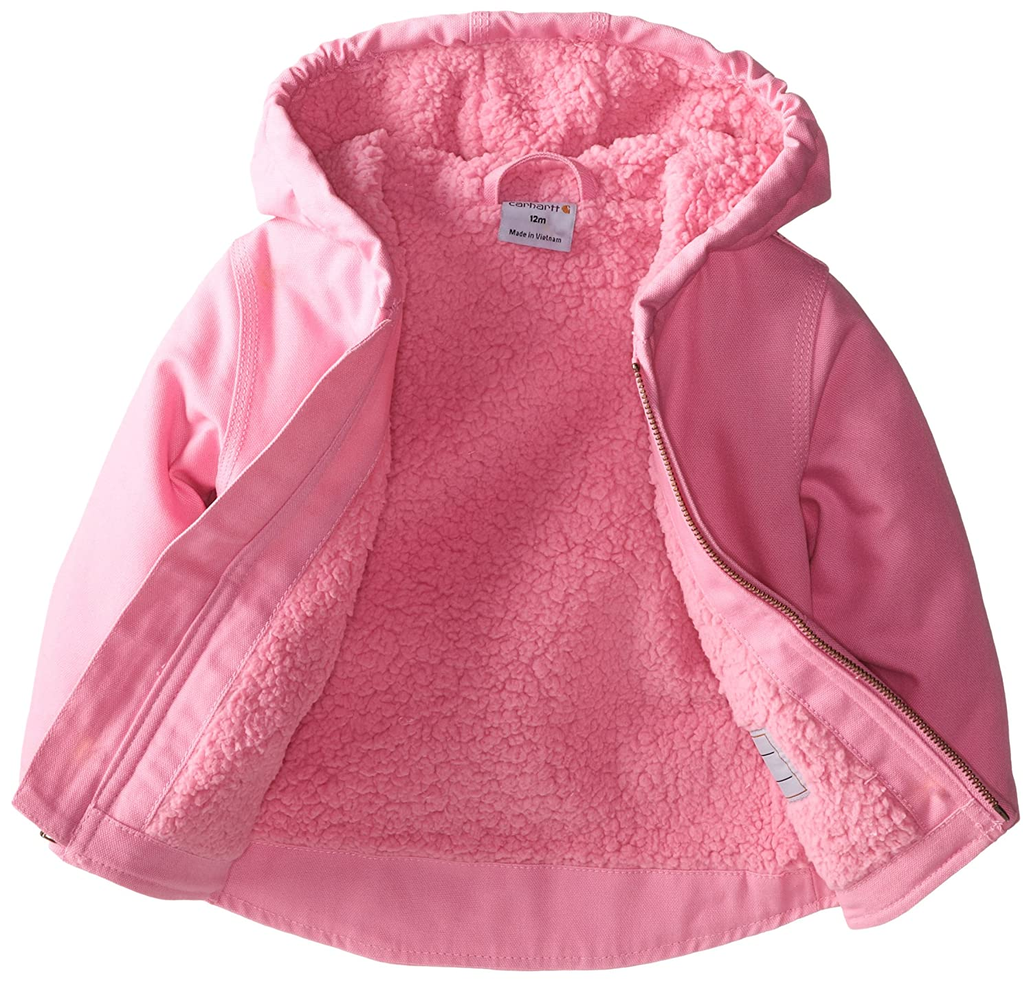 4dad46c1f Amazon.com: Carhartt Girls' Redwood Jacket Sherpa Lined: Clothing