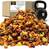 Traina Home Grown Sun Dried Baker's Fruit Medley - Diced Peaches, Cranberries, Apricots, Pears, Nectarines, and Raisins…