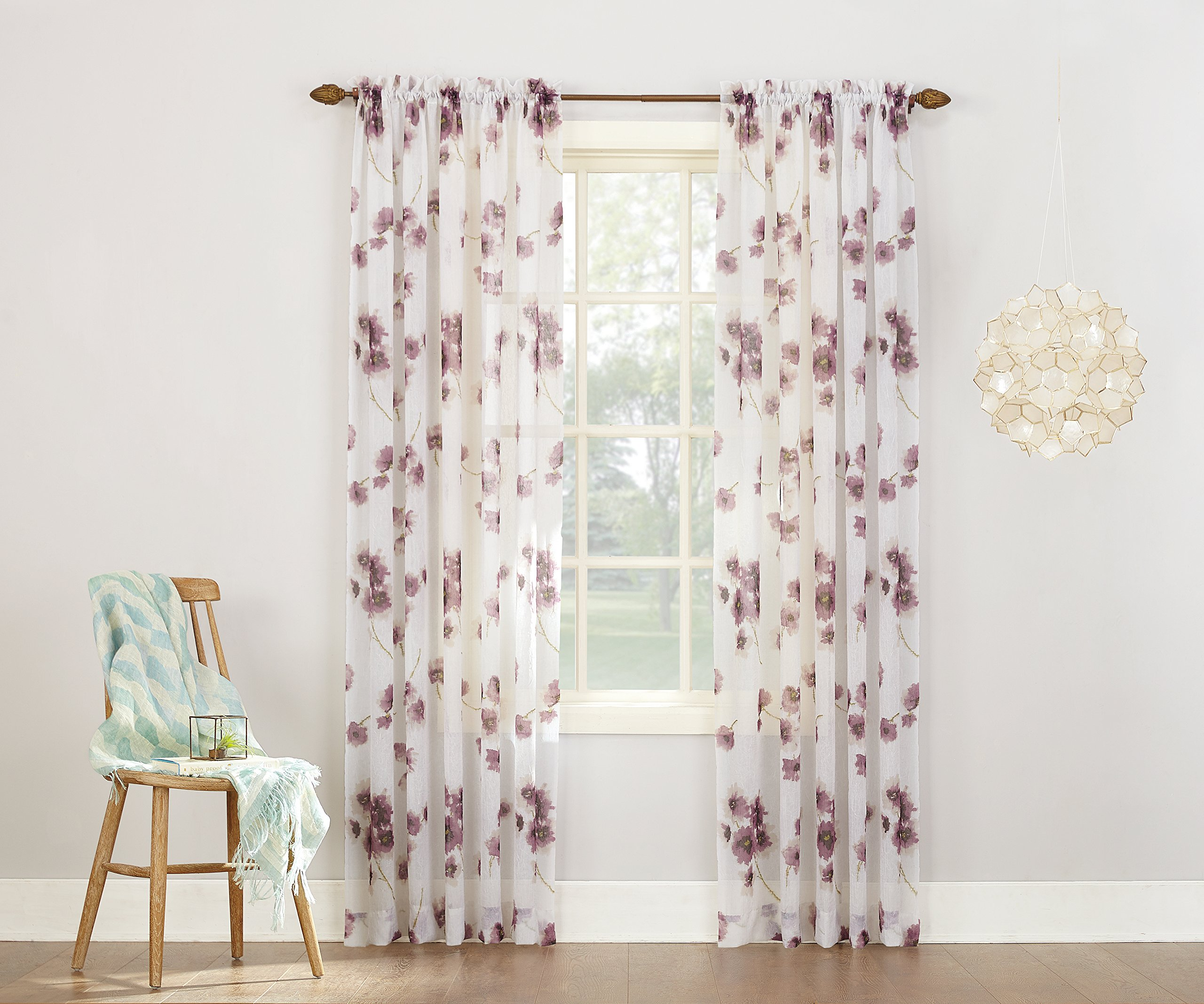 voile size elements x design extra wide pocket rod curtains elegant full large curtain in sheer diamond window of