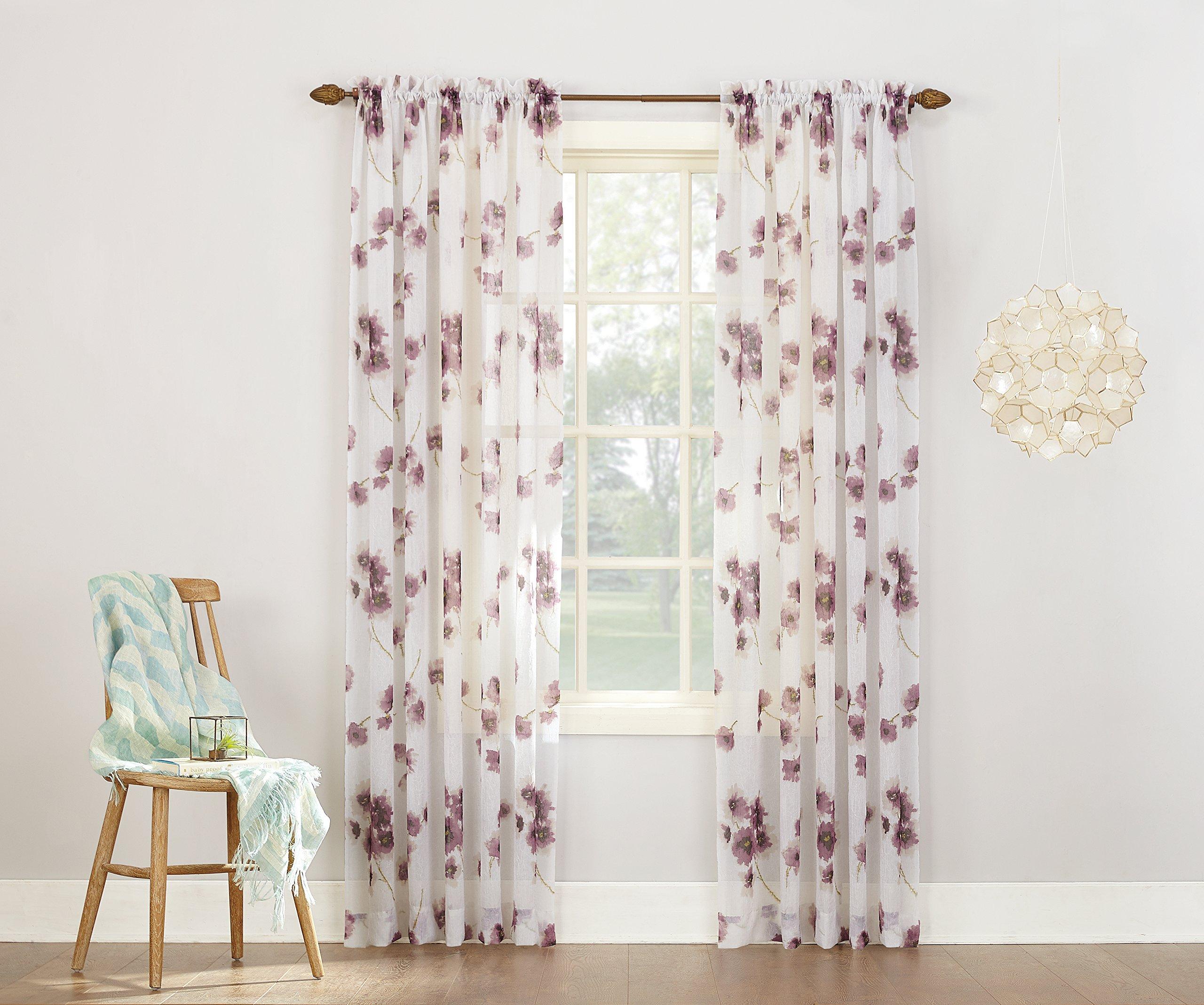 bordeaux gradient set panel curtain voile sheer ferrari white silk curtains