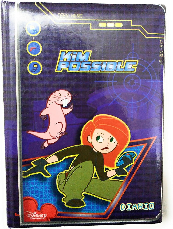 Diario Kim Possible – Licencia Disney- Edición Pocket: Amazon.es ...