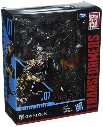 Transformers Studio Series 07 Leader Class Movie 4 Grimlock: Amazon.es: Juguetes y juegos