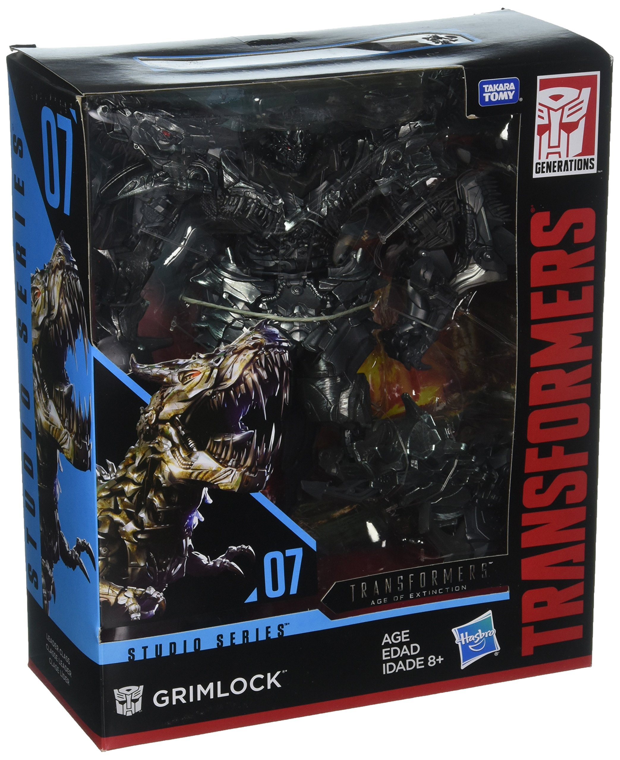 Transformers Studio Series 07 Leader Class Movie 4 Grimlock by Transformers (Image #1)