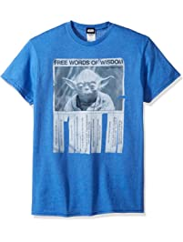 8fa2994c4 STAR WARS Men's Words of Wisdom T-Shirt