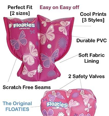 Diseño de flores y mariposas tama o peque flotadores protectores para los brazos de los miembros de Westlife ropa de descanso para niñas 3mos - 2 ...
