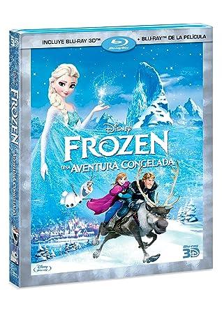 Amazon.com: Frozen (Blu-ray 3D / Blu-ray) Spanish Import: Kristen ...