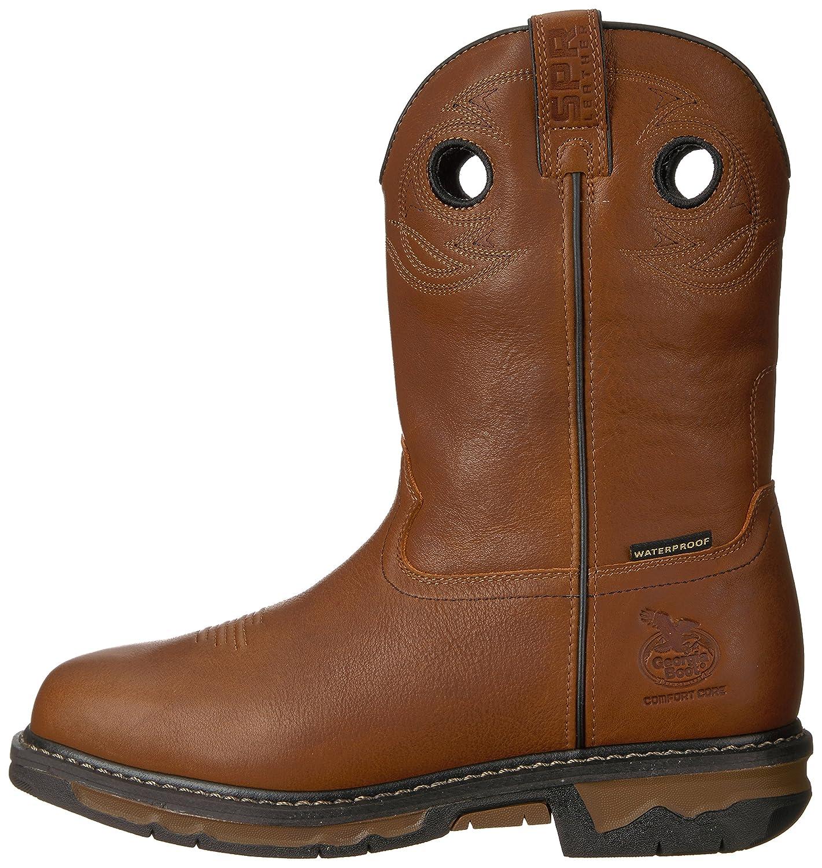 Georgia GB00160 Mid Calf Boot B072NC5K7W 8 M US|Dark Brown