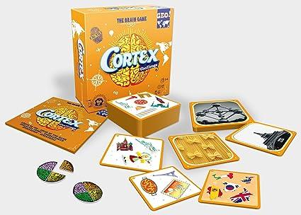 Asmodee- Cortex Geo, Juego de Mesa (ADE0COR03ML): Amazon.es: Juguetes y juegos