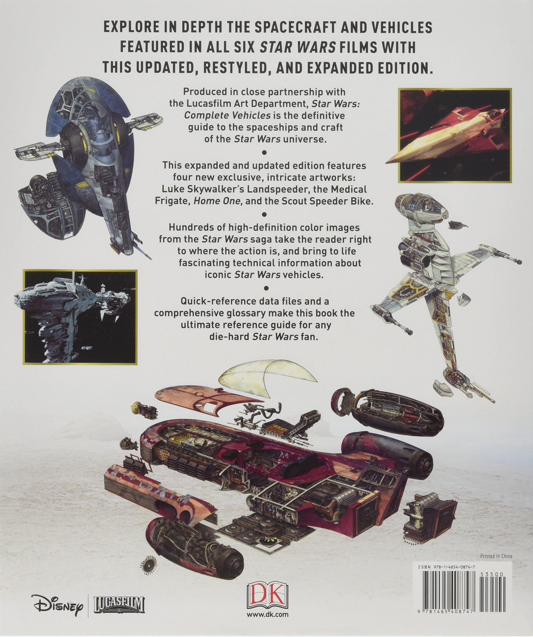Star Wars: Complete Vehicles: DK: 9781465408747: Amazon.com: Books