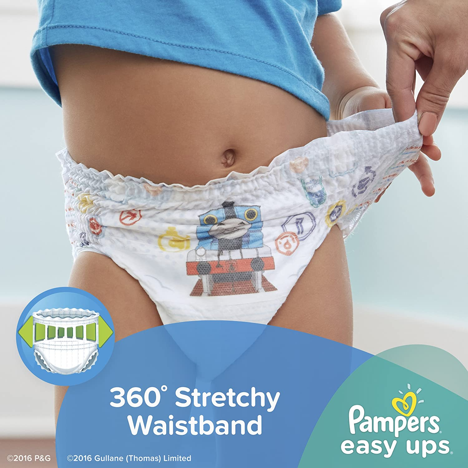 amazon com pampers easy ups training underwear boys size 3t 4t