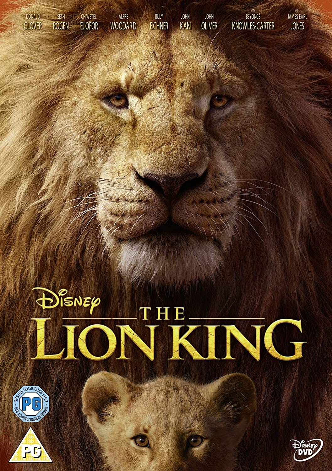 Disney S The Lion King Dvd 2019 Amazon Co Uk Donald Glover