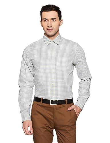 Arrow Men's Formal Shirt Men's Formal Shirts at amazon