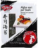 Biyori - Alghe Nori per Sushi - 2 confezioni da 25 g [50 g]