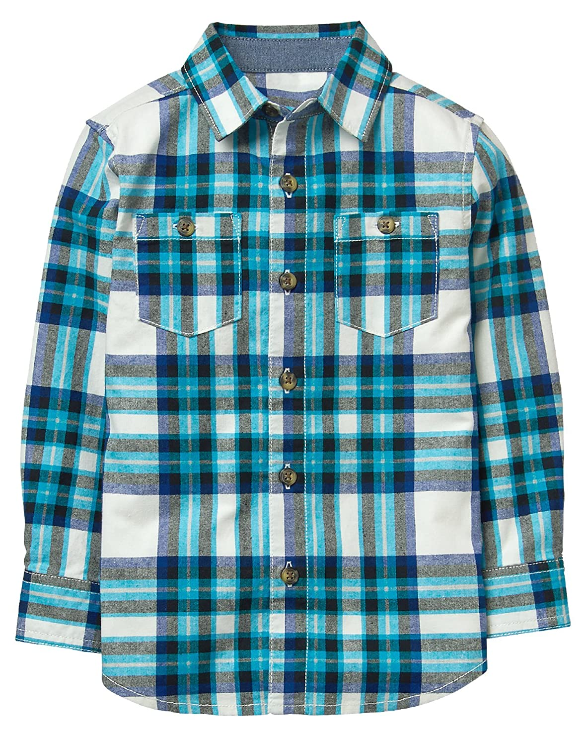 Gymboree Boys Flannel Button Up Shirt