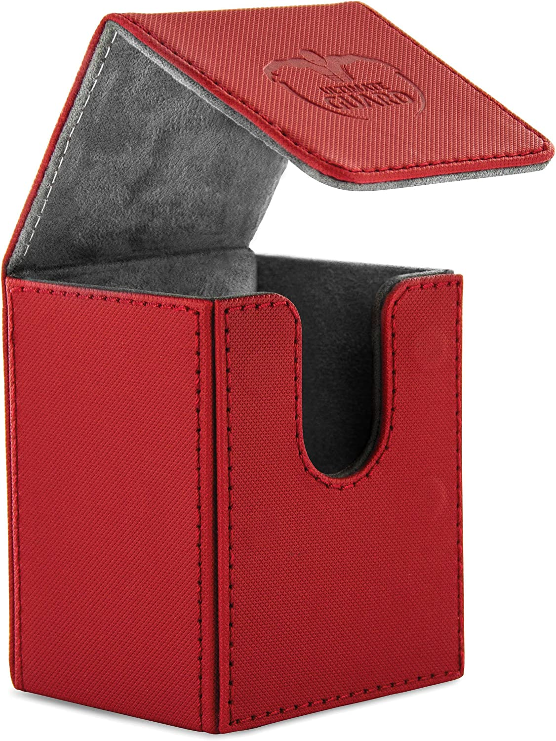 100 Card Flip Xenoskin Deck Case, Red 91kY3rxFt4L