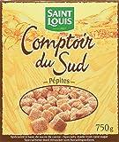 Saint Louis Pépites Sucre de Canne le Paquet 750 g  - Lot de 4
