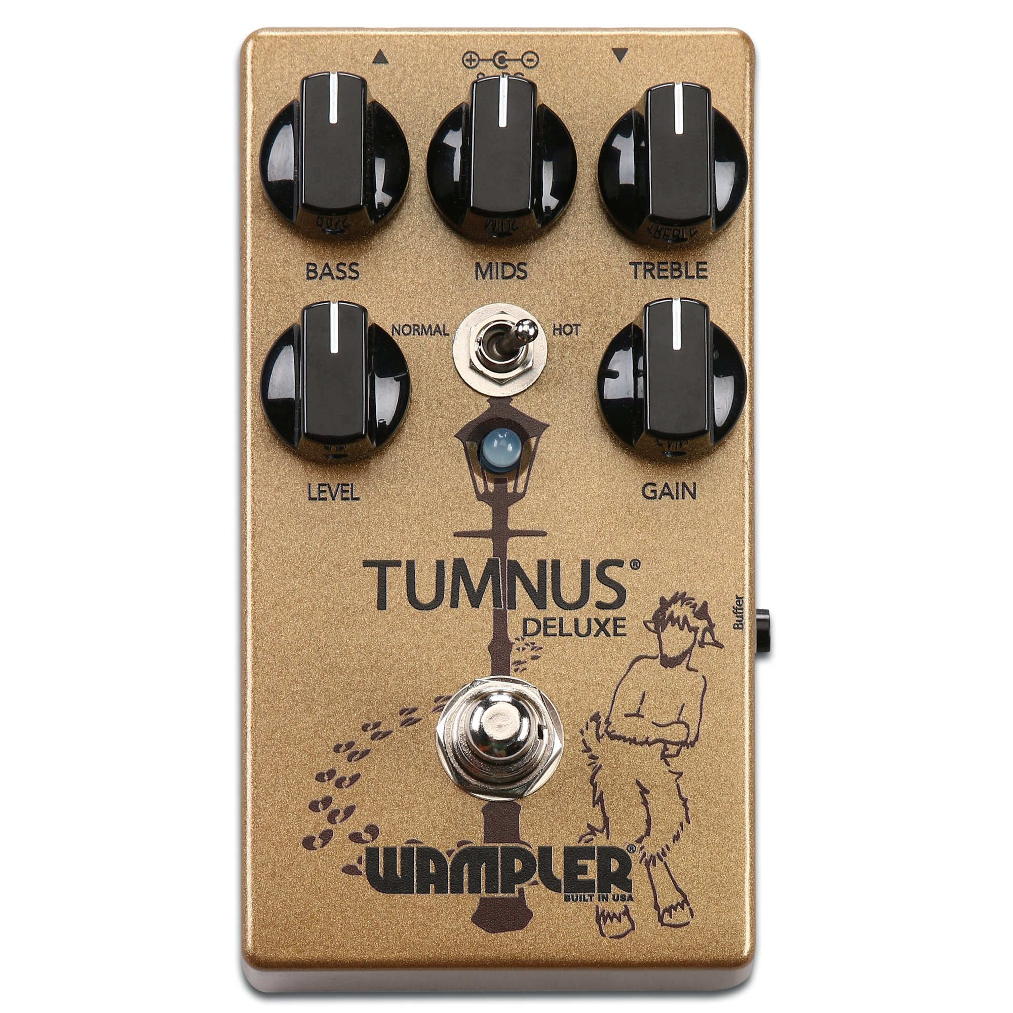 Wampler TUMNUSDLX Tumnus Deluxe Overdrive Pedal by Wampler