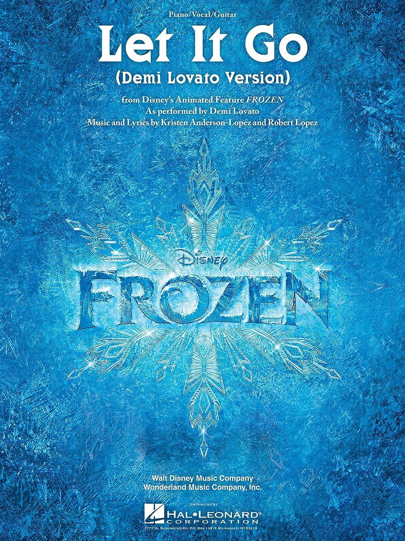 let it go frozen movie version