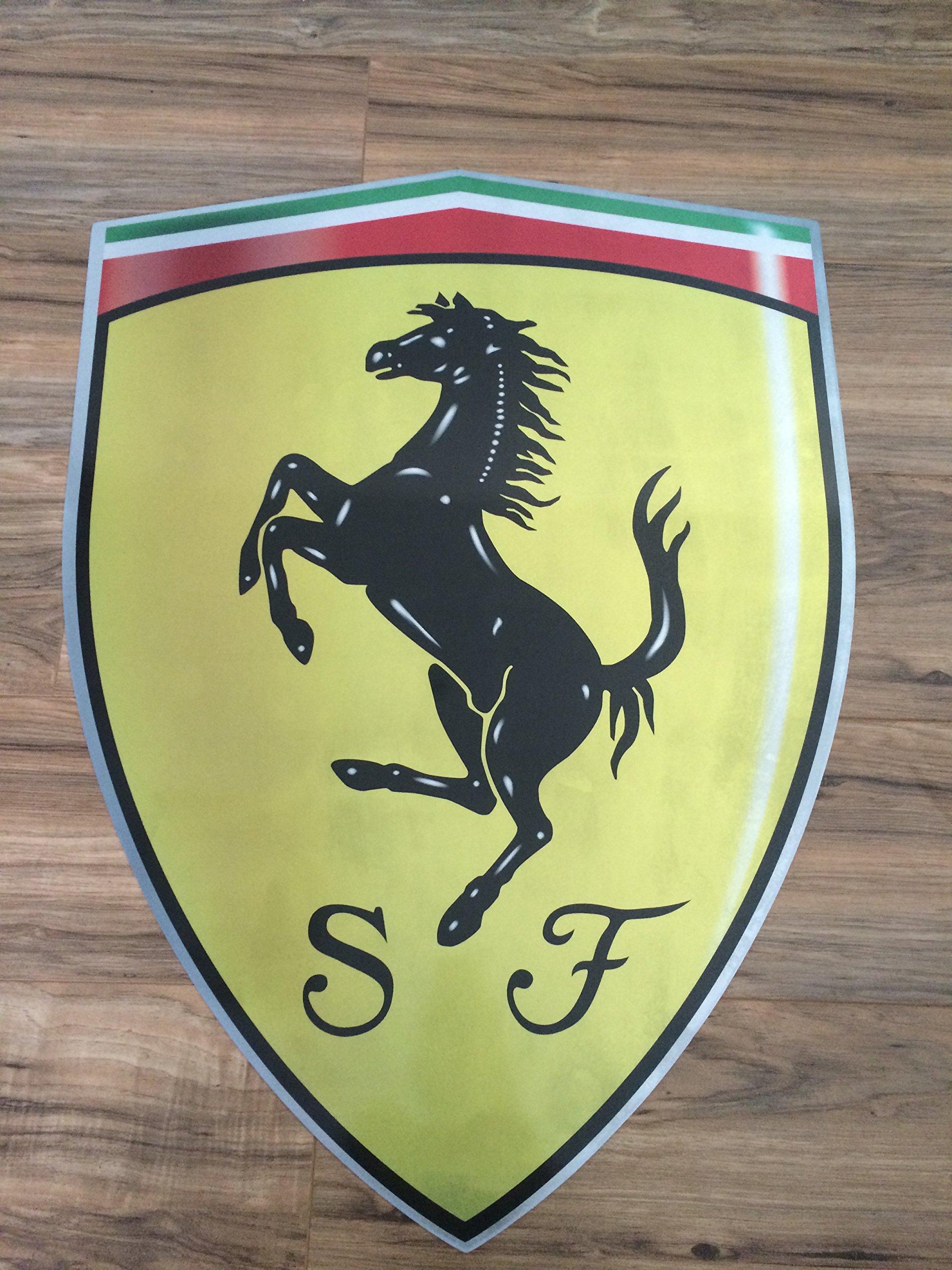 Ferrari Badge 32'' X 23.5'' by Ferrari