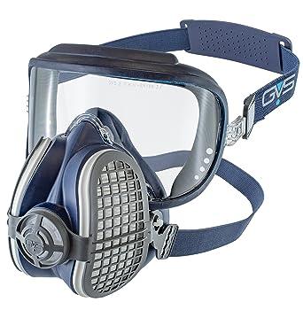 GVS Filter Technology SPR407 Elipse Integra - Gafas de seguridad + P3 (respirador de media