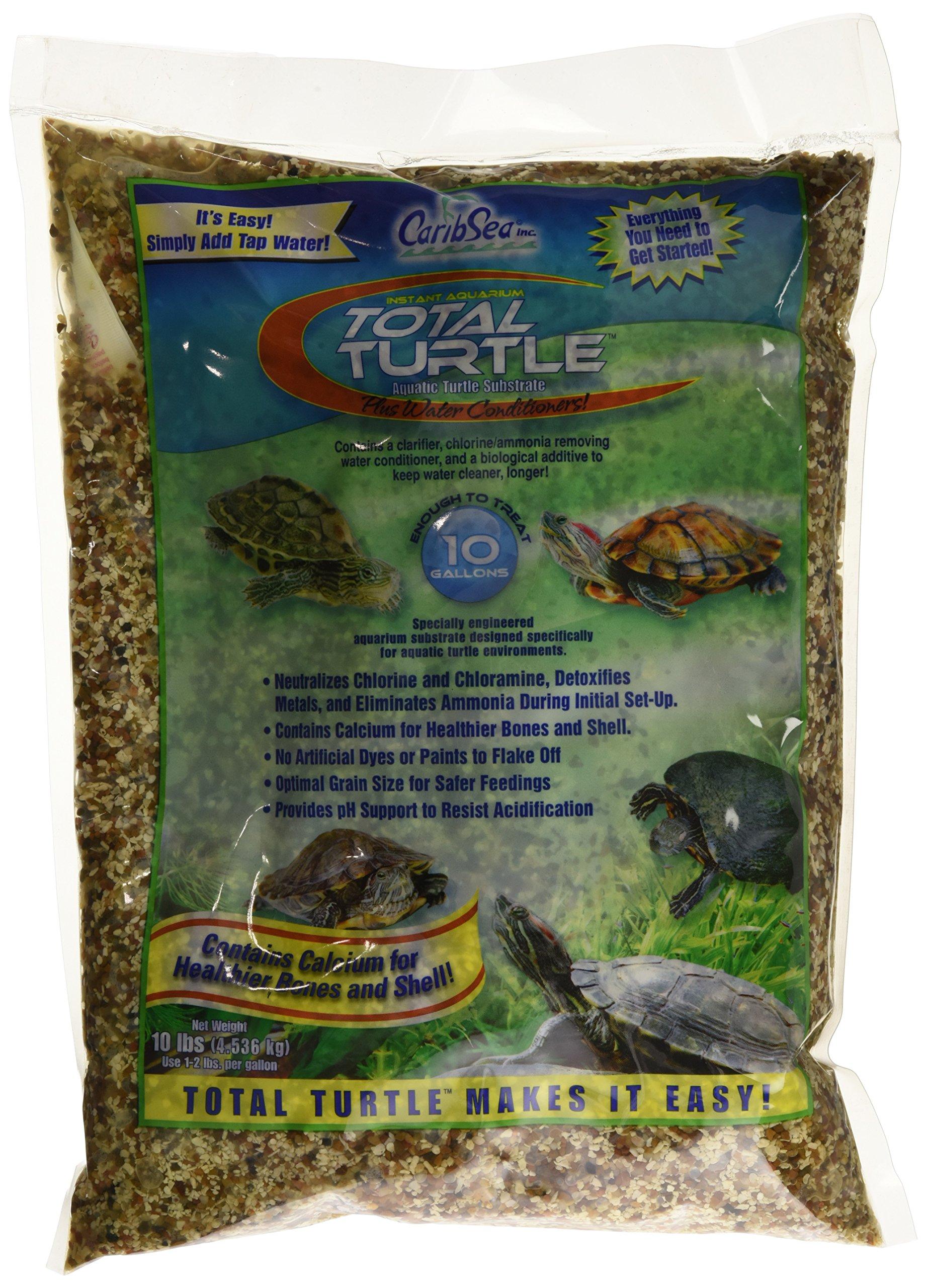 Caribsea Instant Aquarium Sand, 10-Pound, Total Turtle Fine
