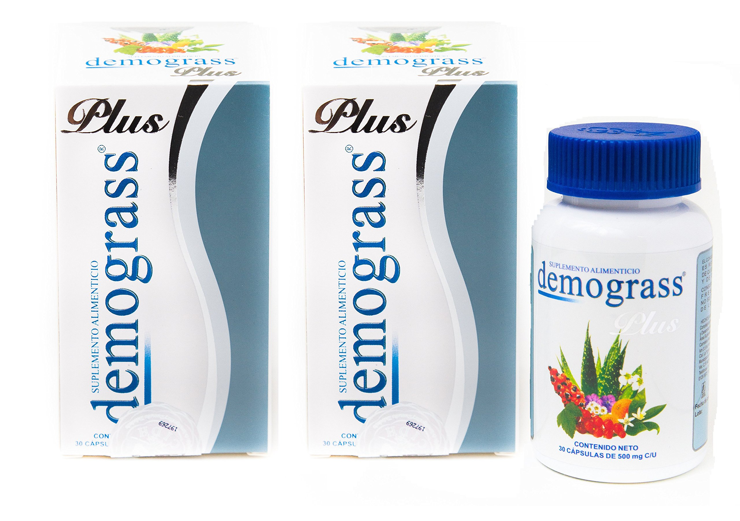 Demograss Plus 30 Day Supply Dietary Supplement USA Compliant Packaging (2 Pack)