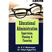 Educational Administration Supervision,Planning And Financing